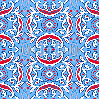 Arabian Dreams Repeating Pattern