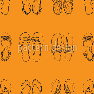 Ich Trag Nur Sandalen Vektor Design