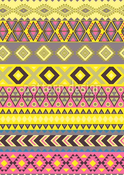Stripe Kilim Repeat Pattern