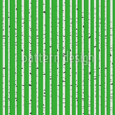 Birken Stämme Muster Design