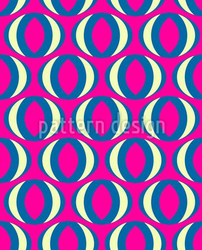 Ovaler Blick Vektor Design