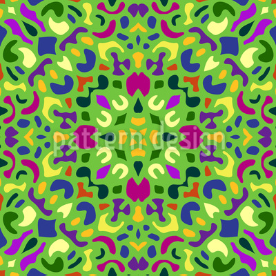 Orientalisches Mosaik Vektor Design
