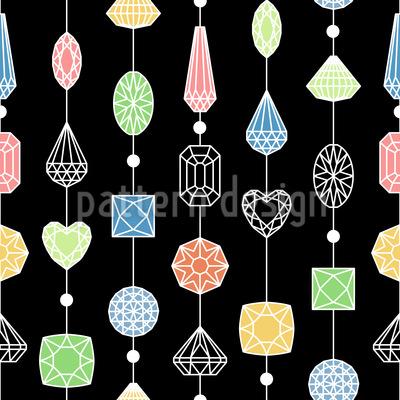 Jewelry Curtain Pattern Design