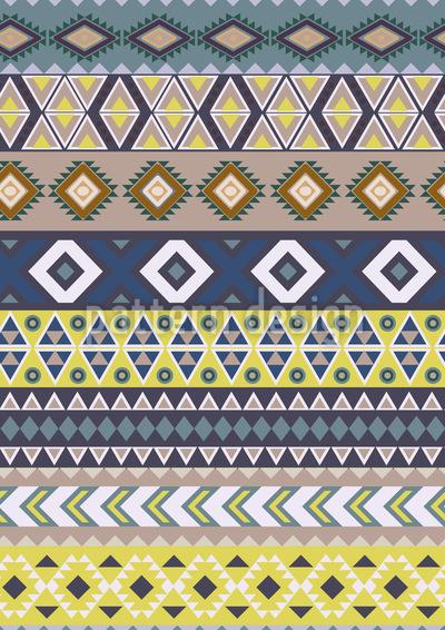 Ethno-Streifen Vektor Design