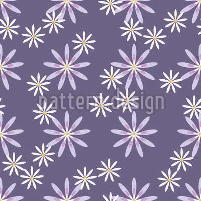 Aster Repeating Pattern