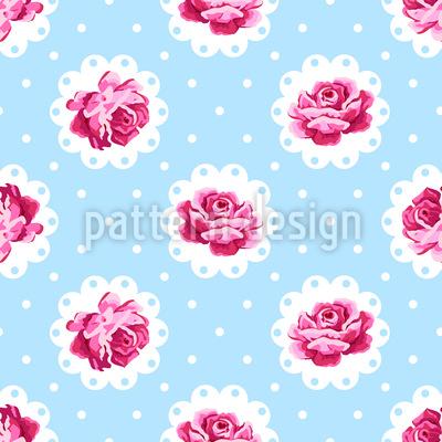Vintage Rose Design Pattern