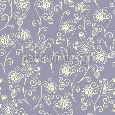 Wachsende Frühlingsgefühle Muster Design