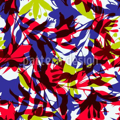 Tropisches Dickicht Vektor Muster