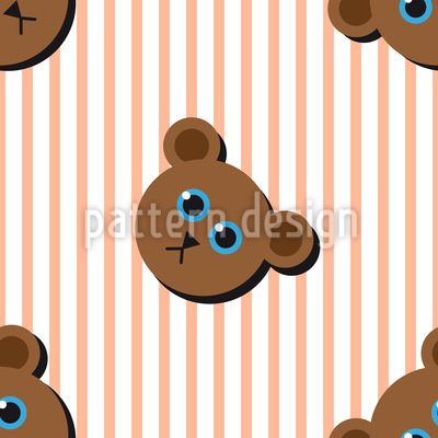 Mr Bear Pattern Design