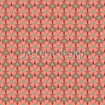 Herbstblüten Nahtloses Muster