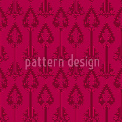 Queens Of Hearts Repeat Pattern