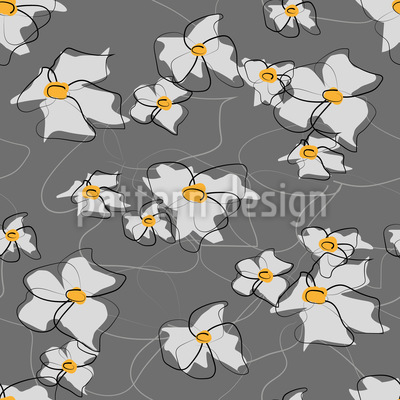 Drawn Bloom Design Pattern