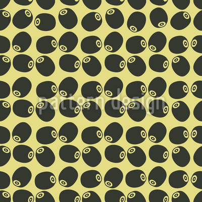 Olive Harvest Repeating Pattern