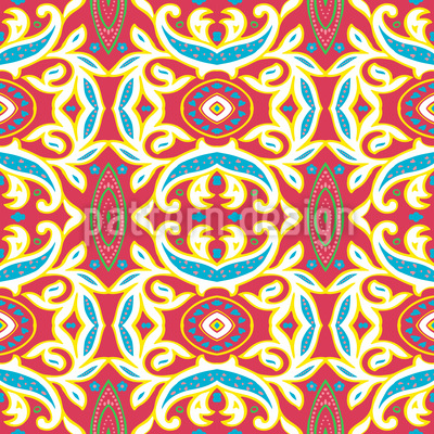 Arabeske Interpretation Muster Design