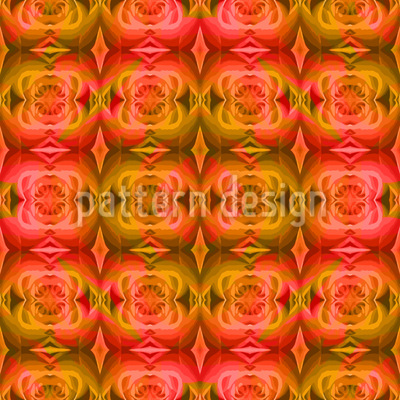 Die Rose Träumt Musterdesign