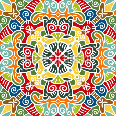 Center Of Arabia Repeating Pattern