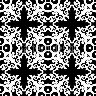Antiker Glanz Nahtloses Vektor Muster