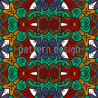 Stammes Häuptling Designmuster