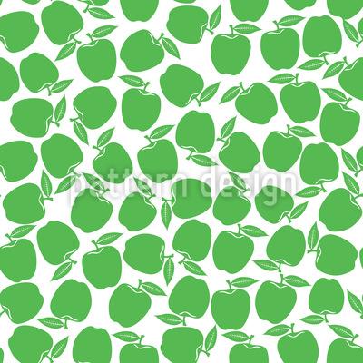 Äpfel Pflücken Musterdesign