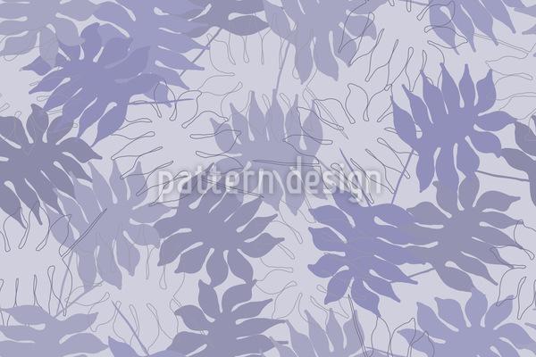 Blätter Des Traumbaumes Muster Design