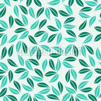 Tropisches Blattwerk Vektor Ornament
