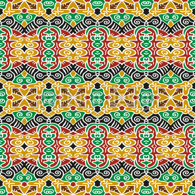 Tribal Connections Repeating Pattern