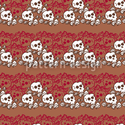 Skully Brown Vector Design