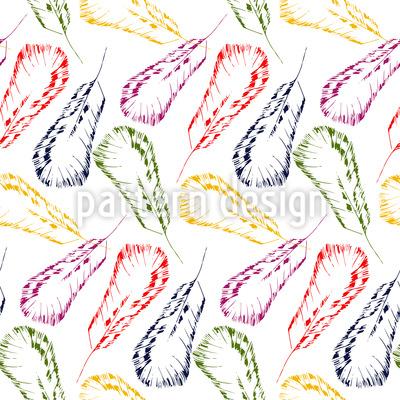Feather Dream Pattern Design