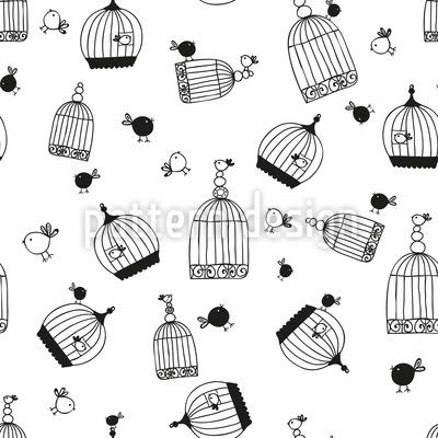 Free Birdie Pattern Design