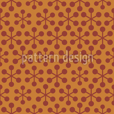 Nuclear Physics Seamless Vector Pattern