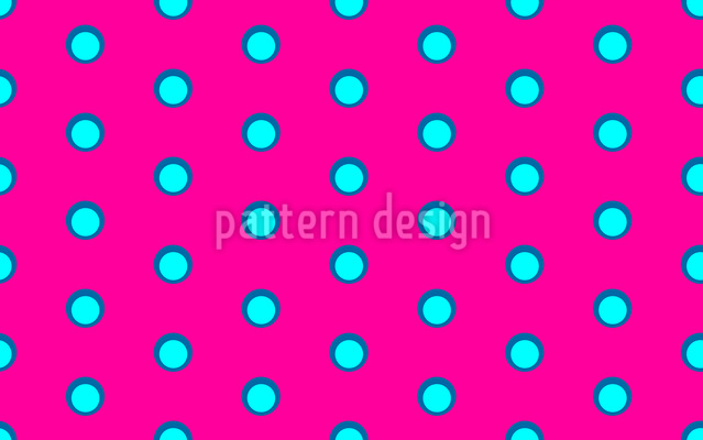 Happy Dots Seamless Vector Pattern