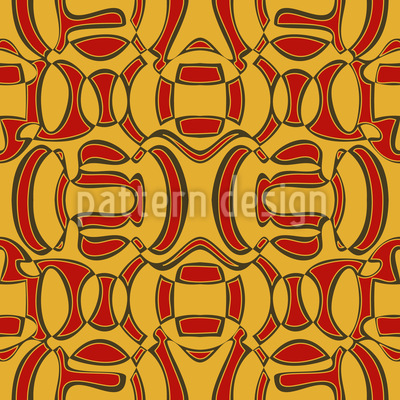 African Surprise Seamless Pattern