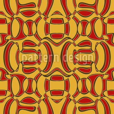 Afrikanische Überraschung Nahtloses Muster