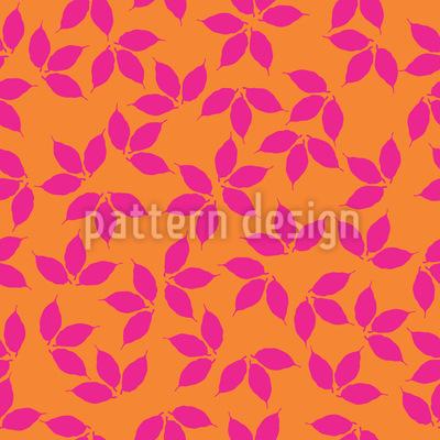 Leaf Silhouettes Pattern Design