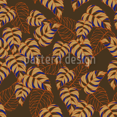 Birch Leaf Expression Vector Ornament