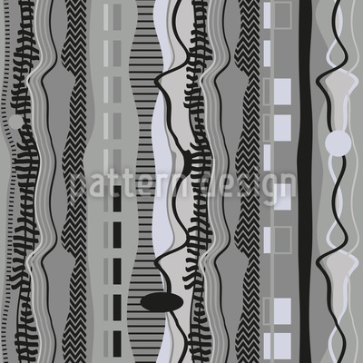 Fabric Traces Pattern Design