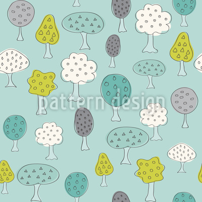 Time To Harvest Seamless Pattern