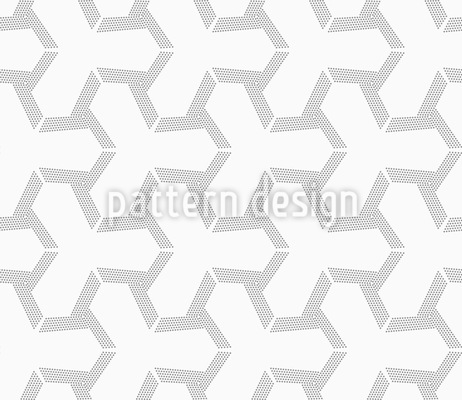 Dotted Tetrapods Pattern Design