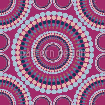 Retro Circle Pattern Design
