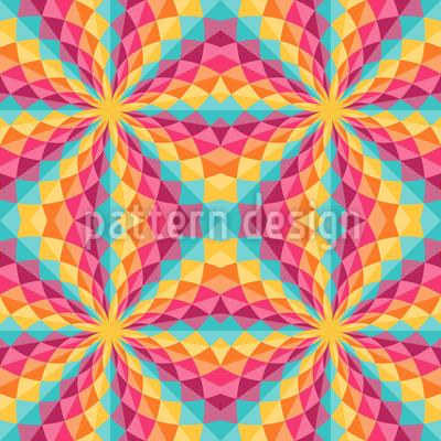 Colorful Kaleidoscope Design Pattern
