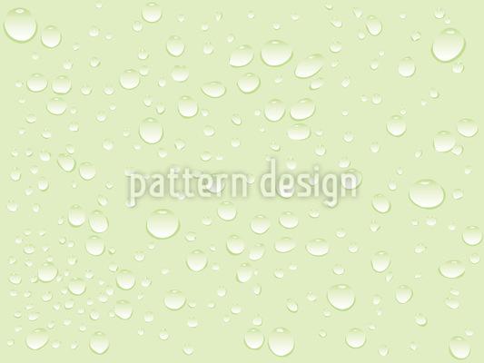 Nasse Oberfläche Rapportiertes Design