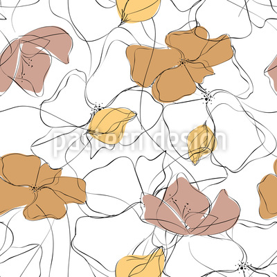Entspannter Tag Muster Design