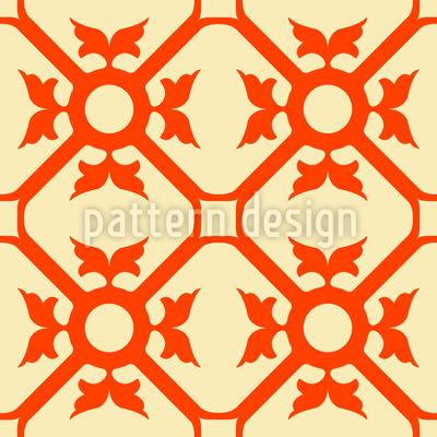 Elegante Verzierung Vektor Muster