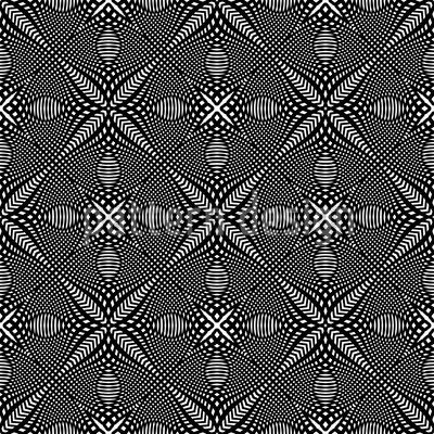 Kreuz Illusion Nahtloses Muster