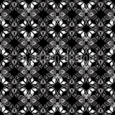 Dunkle Visionen Nahtloses Vektor Muster