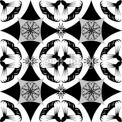 Moderne Kacheln Vektor Muster