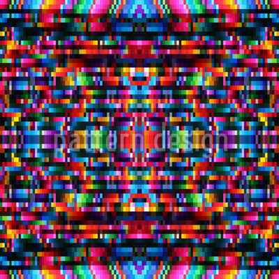 Pixel Power Repeating Pattern