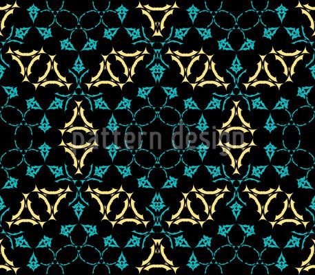 Medieval Kaleidoscope Pattern Design