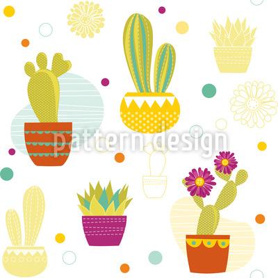Cactus Repeating Pattern
