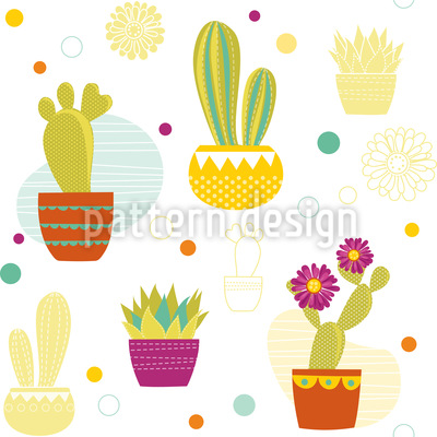 Kaktus Rapportiertes Design